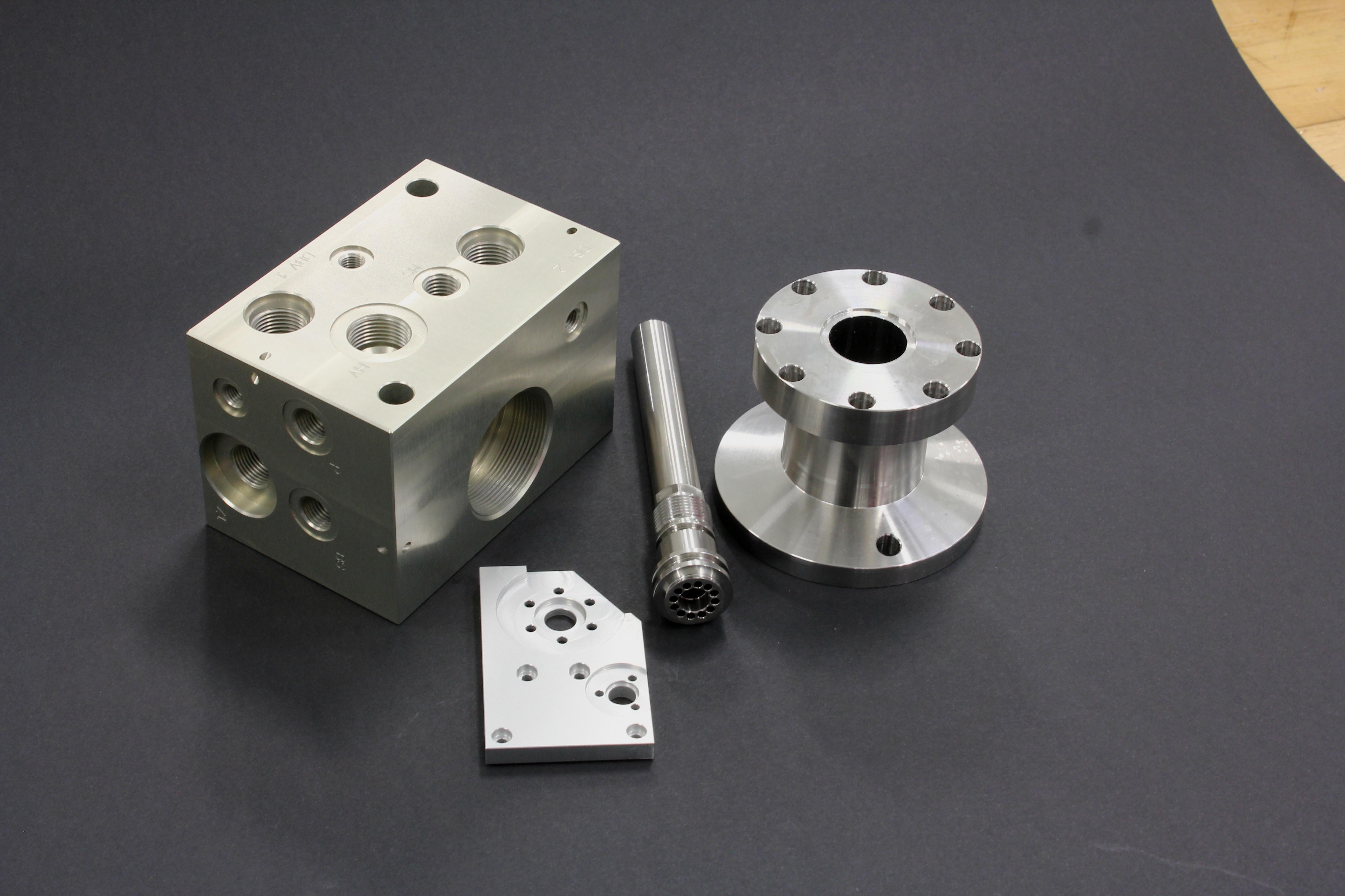 eksempler på komponenter vi udformer til vores kunder